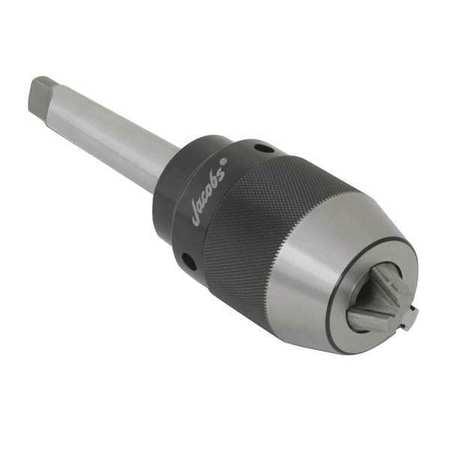 JACOBS Drill Chuck,Keyless,Steel,0.630 In,3MT 31414