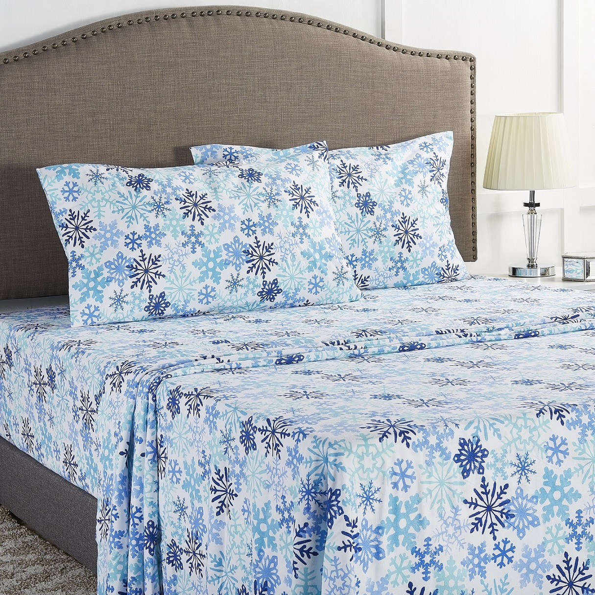 Mainstays Flannel Sheet Set, King