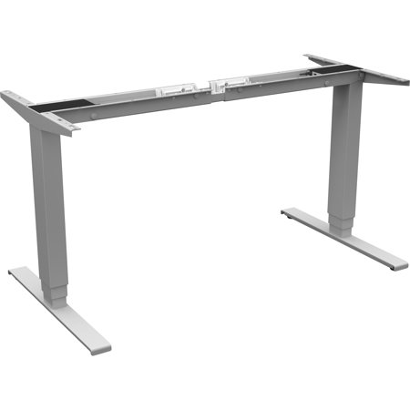 Lorell Quadro Workstation Sit-to-Stand 3-tier Base