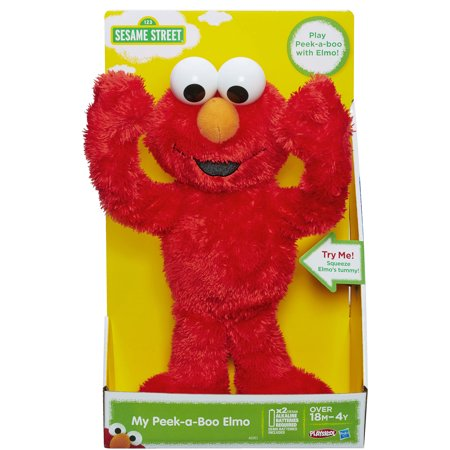 Playskool Sesame Street My Peek A Boo Elmo Toy