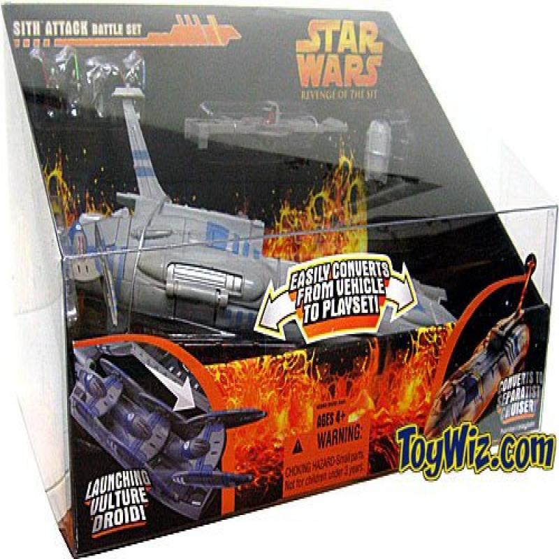 Hasbro Star Wars Revenge of the Sith Micro Machines Sith ...