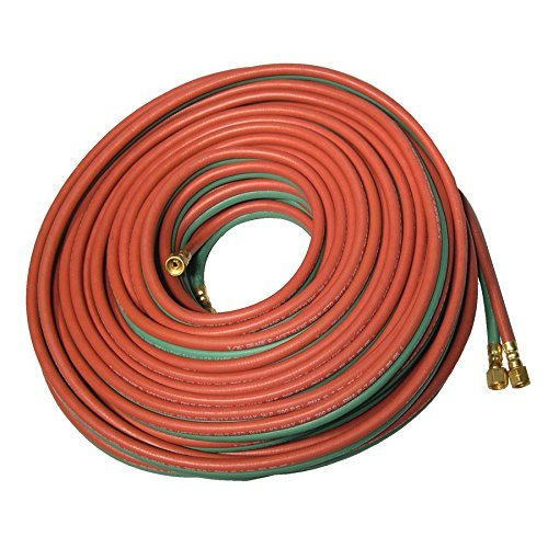 Anchor T-254 1/4 x 25 twin hose B-B, all gases, Grade T
