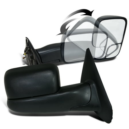2002-2008 Ram 1500 Truck Power Manual Towing Fold Out Mirrors 2500 3500  02 03 04 05 06 07 08