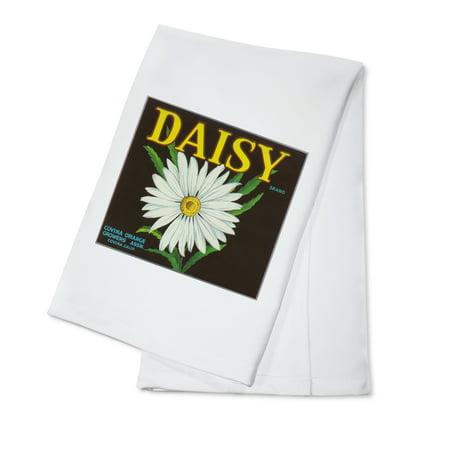 Daisy Brand Citrus Crate Label - Covina, CA (100% Cotton Kitchen Towel) (Party City Covina Ca)