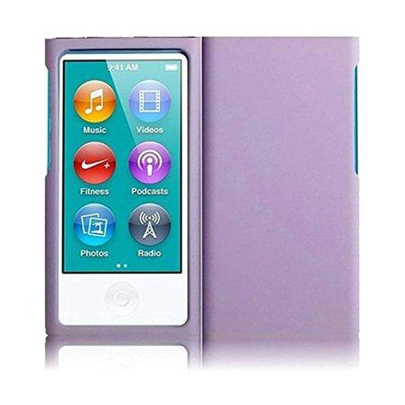 - iPod Nano 7th Gen Case, Premium Hard Shell Rubberized Slim Protective Case ShockProof Cover for iPod Nano 7th Gen - Light Purple
