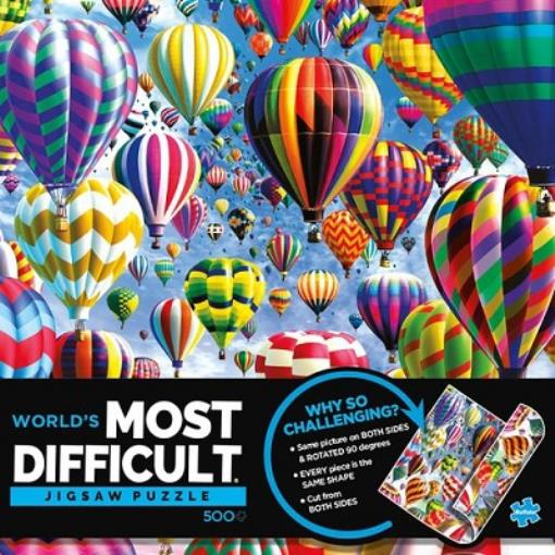 Buffalo Games Vivid  -  Hot Air Ballons  -  Worlds Most Difficult Puzzle Mint / new