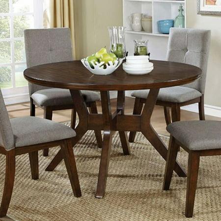 7e61d5734f33f Abelone Mid-Century Modern Round Dining Table