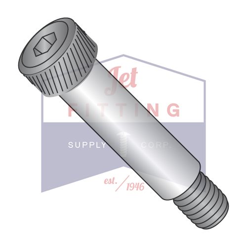 QUANTITY: 25 pcs Made in USA 1//2 x 2 1//2 Socket Shoulder Screw Plain