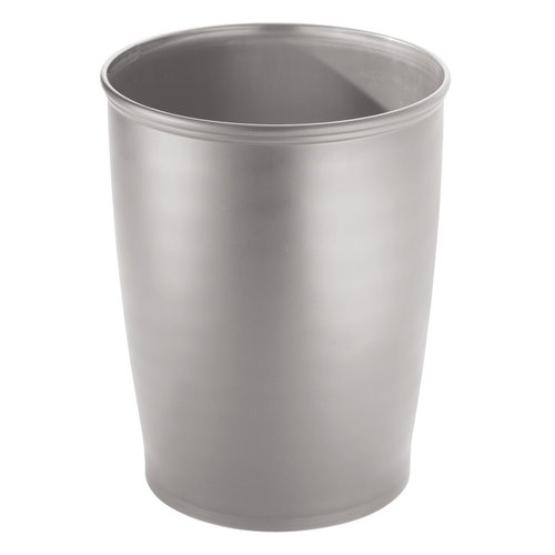 InterDesign Kent Tall Trash Can, Silver by INTERDESIGN