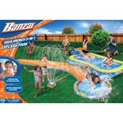 Banzai aqua drench 3 in 1 inflatable splash park here casual