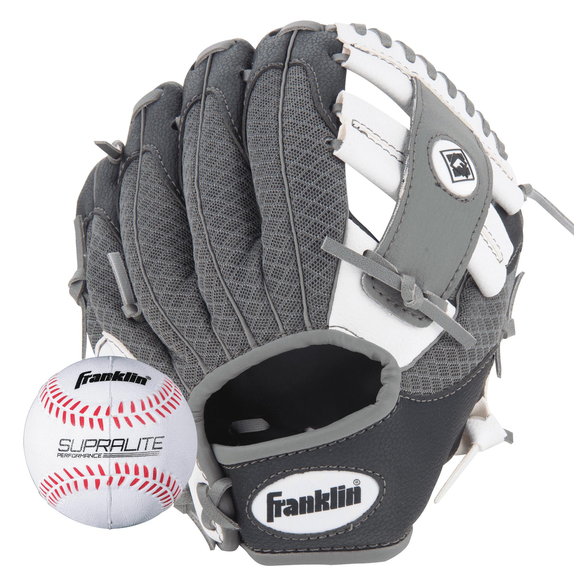 blau Graphite//Blue 10,5 10.5 Inches Franklin Sports Teeball Franklin Fielding Glove-Infinite Web
