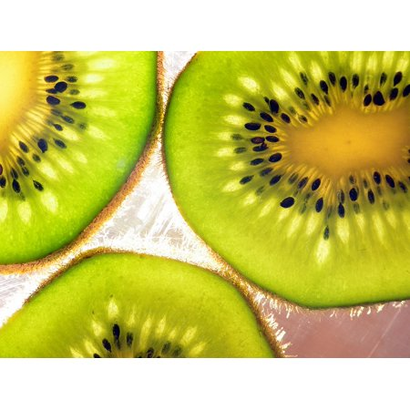 - Peel-n-Stick Poster of Fruit Food Chopped Organic Fresh Kiwi Cut Sweet Poster 24x16 Adhesive Sticker Poster Print