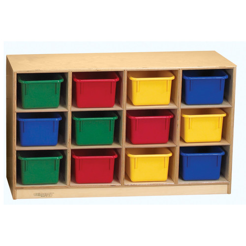Childcraft Toddler Mobile Cubby, 12-Unit Capacity