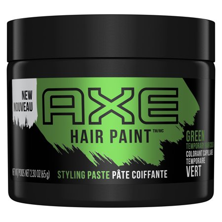 AXE Hair Paint Temporary Color Styling Paste Green 2.3 (Best Mens Hair Color Products)