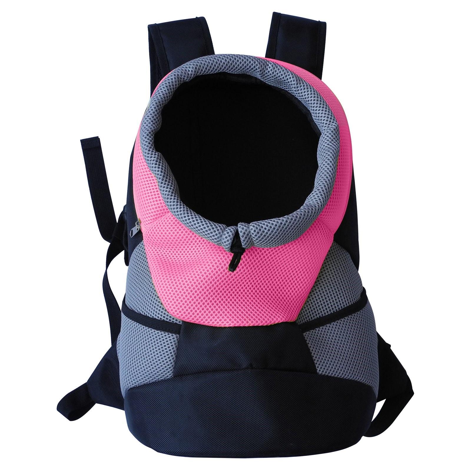 Pet Life On-the-Go Supreme Travel Bark-Pack Backpack Pet Carrier