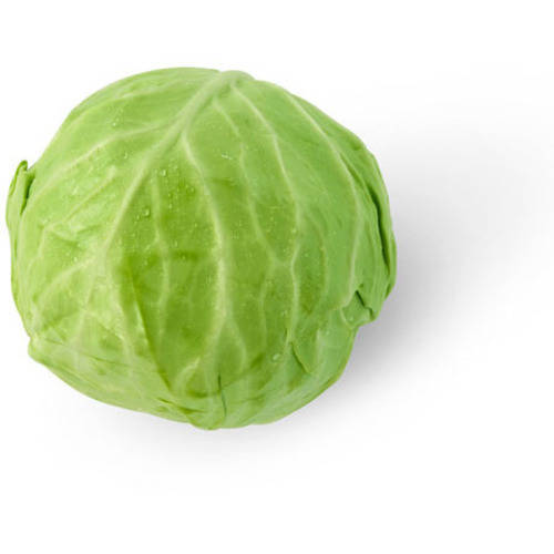 Organic Green Cabbage, head