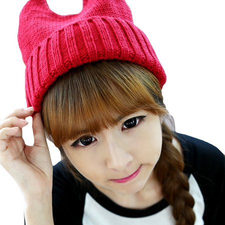 da07e953e746c LOCOMO Accessories - LOCOMO Women Girl Cute Devil Horn Cat Ear ...