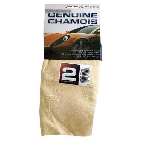 Small Chamois (Sheepskin Full Skin Chamois, Beige 2 Sq. Ft. AUTOSPA)