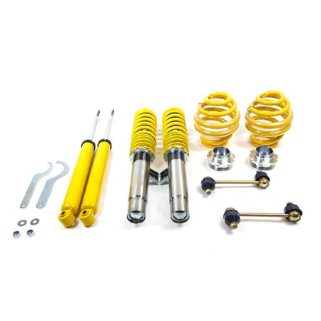 Bmw M3 Cabrio (FK Street-Line Adjustable Coilover BMW E46 3-Series (NON M3) - Yellow Coilovers )