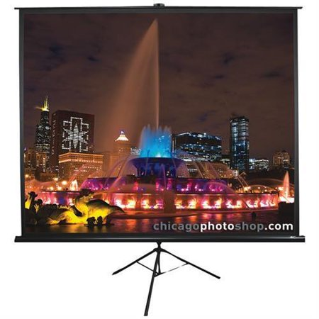 ELITE SCREENS T71UWS1 Tripod Series Projection Screen (1:1 Format; 71