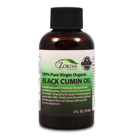 Black Cumin Seed Oil, Cold Pressed, Virgin Organic, 2 fl. oz.