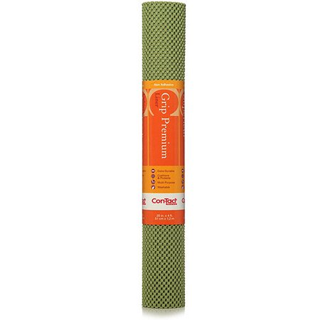 Con Tact Brand Grip Premium Non Adhesive Shelf Liner Aloe