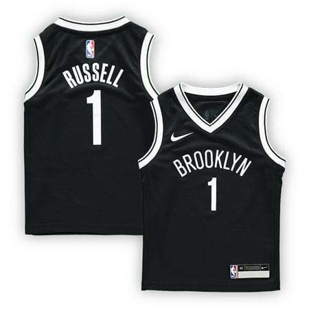 size 40 0182c 46842 D'Angelo Russell Brooklyn Nets Nike Preschool Replica Jersey ...