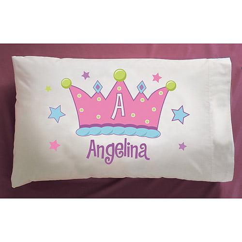 Personalized Crown Pillowcase