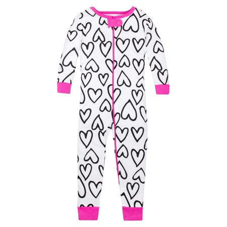 Cotton Sleeper Pajamas - Lamaze Pure organic cotton footless stretchy footless pajama sleeper (baby girls & toddler girls)