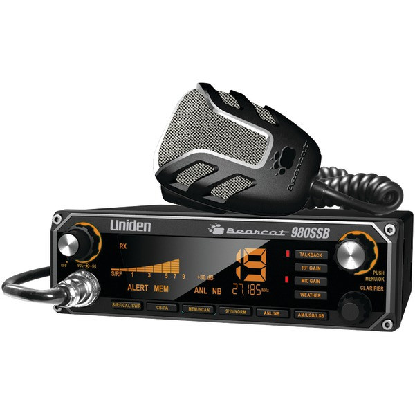 UNIDEN BEARCAT 980SSB CB Radio with SSB by Uniden