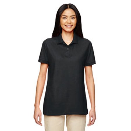 Gildan Ladies' 6 oz. Double Piqué Polo Girls L/s Polo