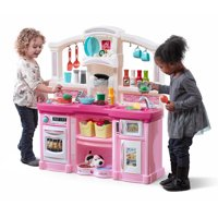 Step2 Fun with Friends Play Kitchen with 24 Piece Accessory Play Set - Pink