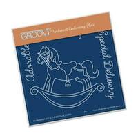 Groovi Rocking Horse A6 Plate