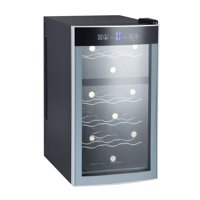 Avanti 18 Bottles Thermoelectric Wine Cooler - Black