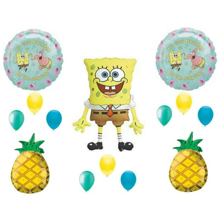 SpongeBob Squarepants Birthday Party Balloons Decoration Supplies pineapple (Spongebob Squarepants Birthday Party Supplies)