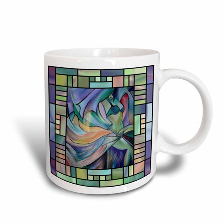 3dRose Art deco Dancer - dance, dancing, belly dance, bellydance, oriental dance, middle eastern dance, , Ceramic Mug, 11-ounce