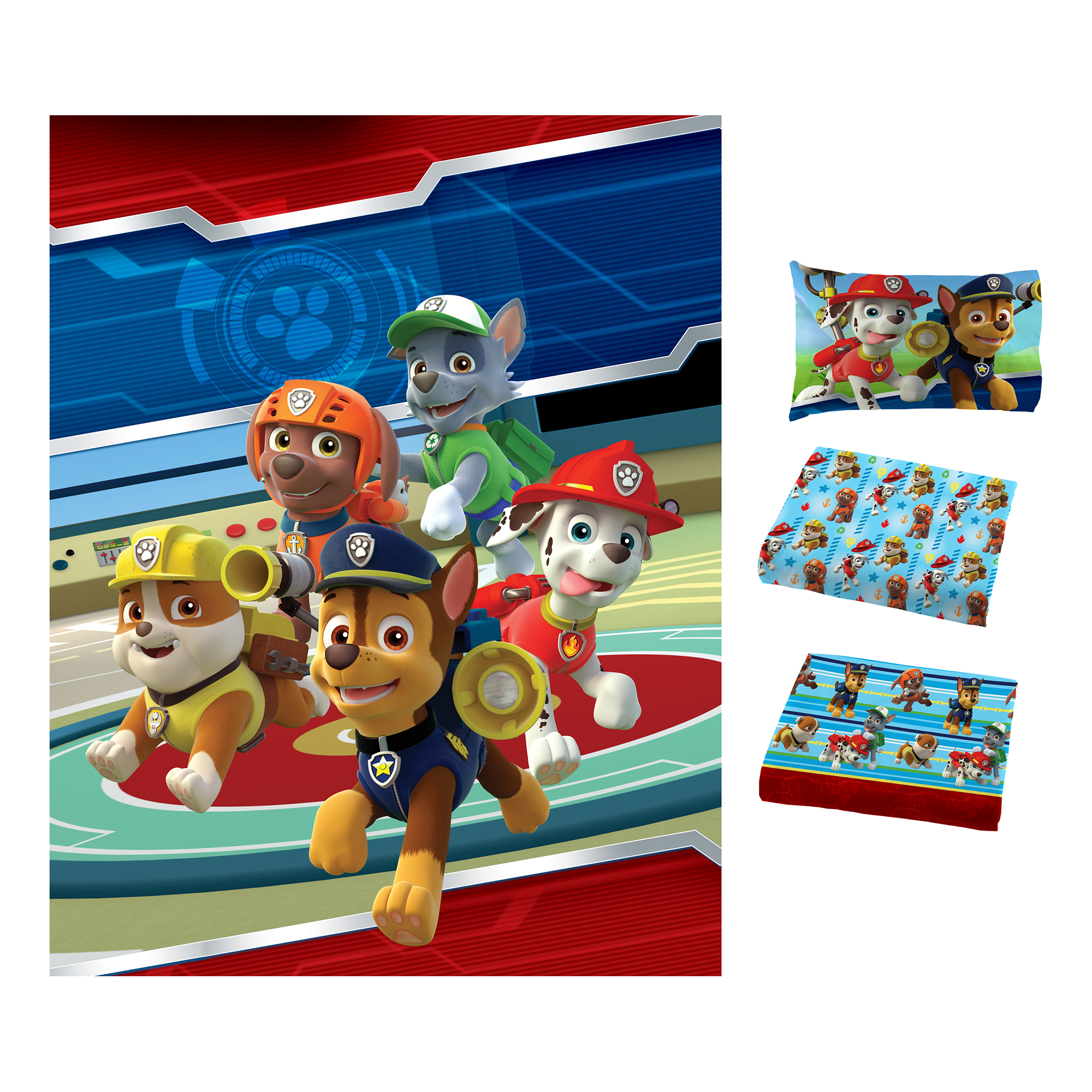 Paw Patrol Puppy Hero Bed in Bag Bedding Set