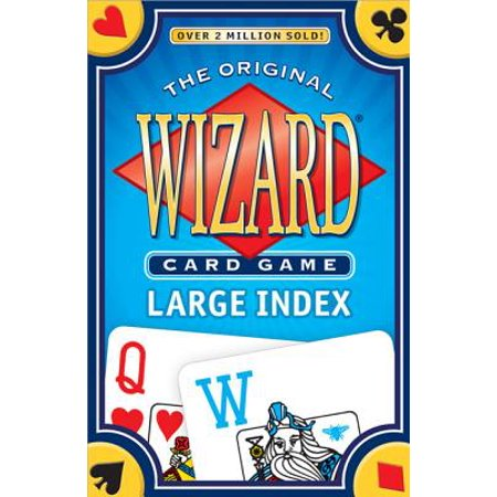 Wizard Card Game Large Index (Fairy Tale Card Game)