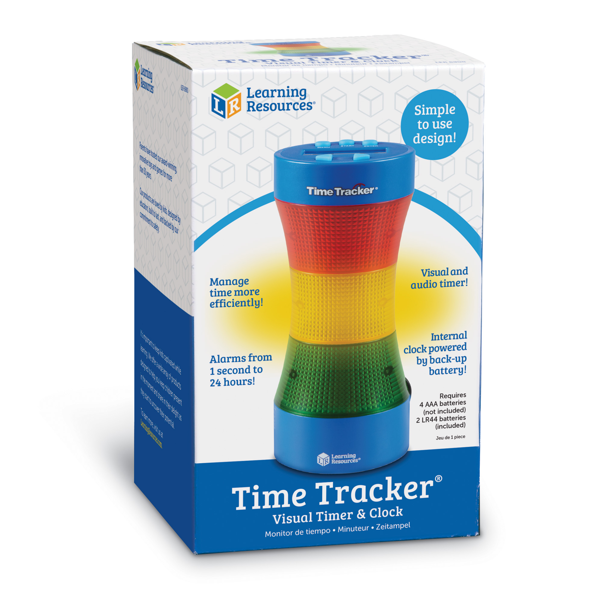 Learning Resources Time Tracker Classroom Timer - Walmart.com