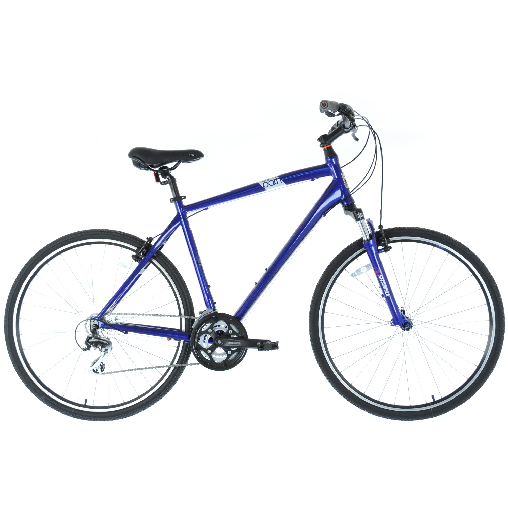 "2016 FELT Verza Path 20 Upright Hybrid Fitness Bike 3x8-Speed // Blue // 22"""