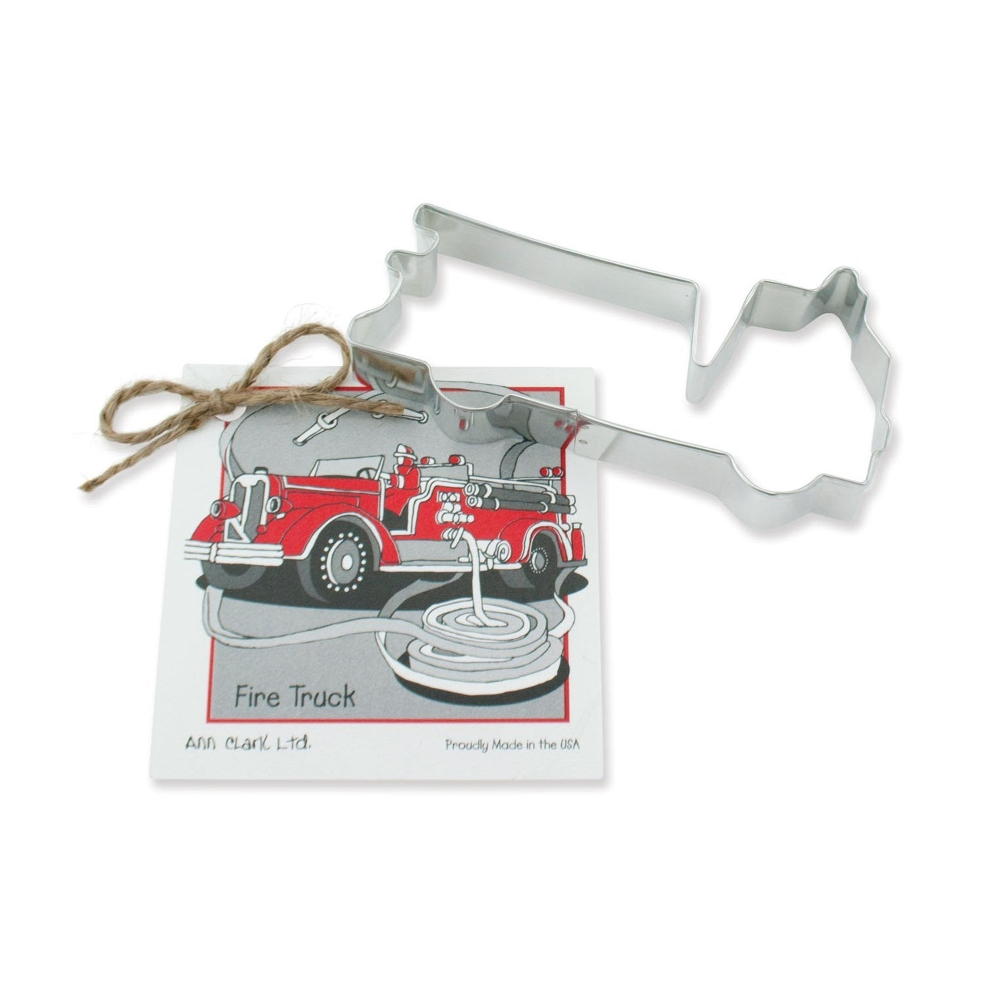 "Ann Clark 5"" Cookie Cutter Fire Truck by Ann Clark Ltd."