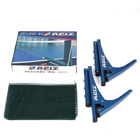 REIZ Professional Table Tennis Net With Clamp Post Stand For Ping