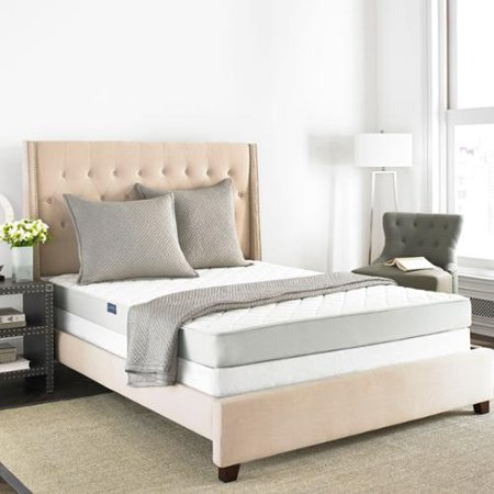 safavieh aura 6 inch spring king size mattress bed in a box. Black Bedroom Furniture Sets. Home Design Ideas