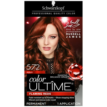 Schwarzkopf Color Ultime Permanent Hair Color Cream, 5.72