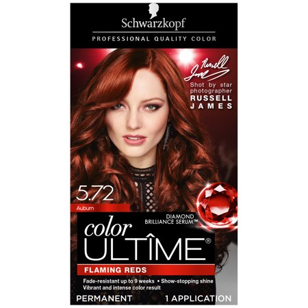 Schwarzkopf Color Ultime Permanent Hair Color Cream, 5.72 (Best Hair Dye To Use On Weave)