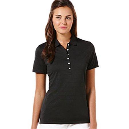 - callaway cgw437-black-3x ladies opti-vent polo, black - 3x