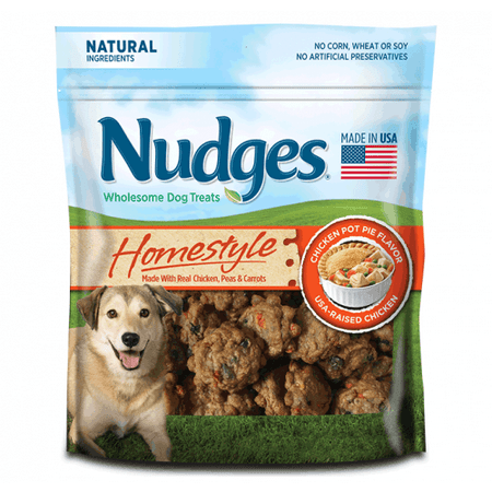Nudges Homestyle Chicken Pot Pie Dog Treats, 16 Oz](Halloween Moon Pie Treats)