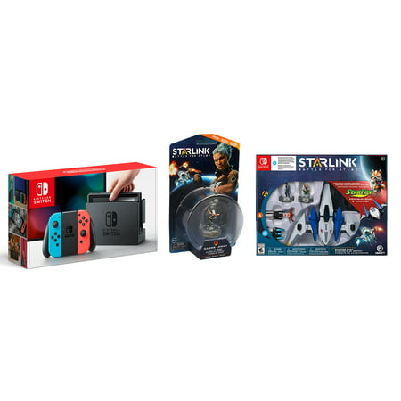Nintendo Switch Console with Starlink Game and Your Choice of Starlink Accessory Classic Original Nintendo Game