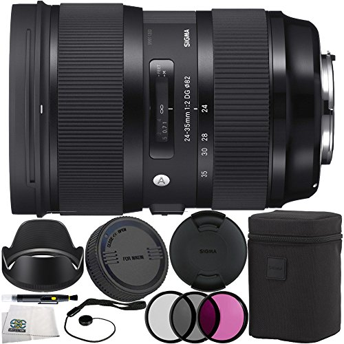 Sigma 588955 24-35mm f/2 DG HSM Art Lens for Nikon F 10PC...