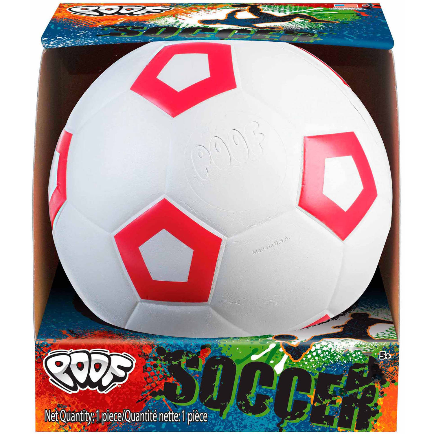 "POOF-Slinky 751 POOF 7.5"" Foam Soccer Ball with Box (Colors and Style May Vary)"